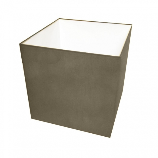 abat jour carre longueur 20 cm. Black Bedroom Furniture Sets. Home Design Ideas