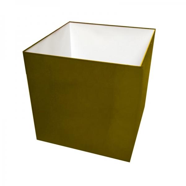 abat jour carre longueur 45 cm. Black Bedroom Furniture Sets. Home Design Ideas