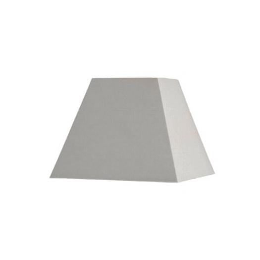 Abat-jour carré pyramidal longueur 15 cm