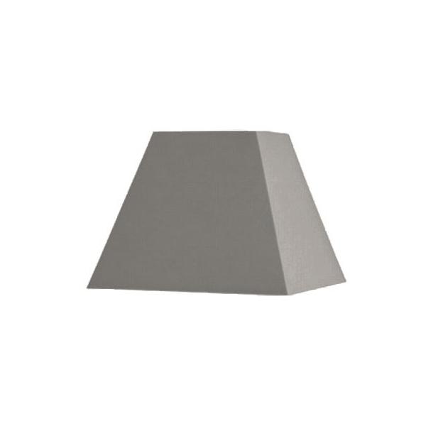 abat jour carre pyramidal base 20 cm. Black Bedroom Furniture Sets. Home Design Ideas