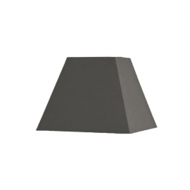 Abat-jour carré pyramidal base  25 cm