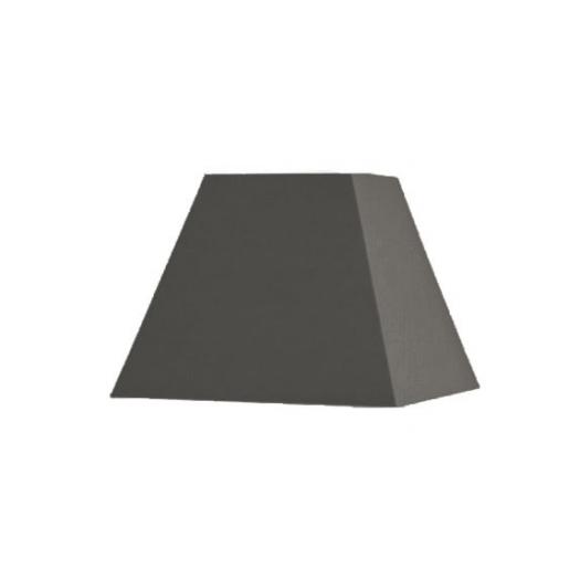Abat-jour carré pyramidal longueur 25 cm