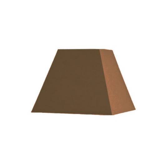 Abat-jour carré pyramidal longueur 30 cm