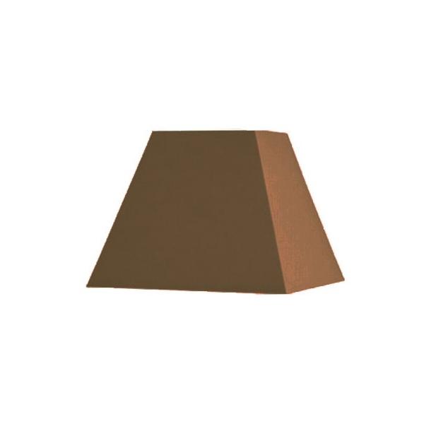 abat jour carre pyramidal base 30 cm. Black Bedroom Furniture Sets. Home Design Ideas