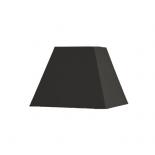 Abat-jour carré pyramidal base  35 cm