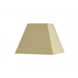 Abat-jour carré pyramidal base  50 cm