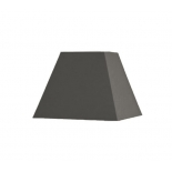 Abat-jour carré pyramidal base  60 cm