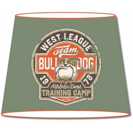 Abat-jour conique Vintage Team Bulldog
