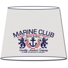 Abat-jour conique Vintage Marine Club