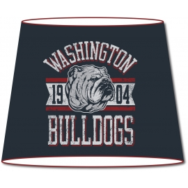 Abat-jour conique Vintage Washington Bulldogs