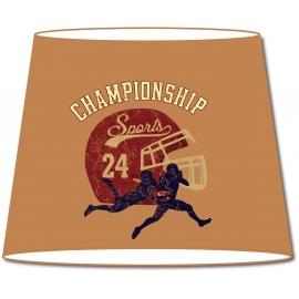 Abat-jour conique Vintage Championship