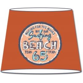 Abat-jour conique Vintage Surfing Beach