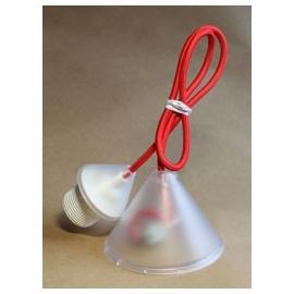 Pendel textile rouge