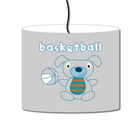 Abat-jour Vintage basketball