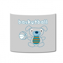 Applique Vintage basketball