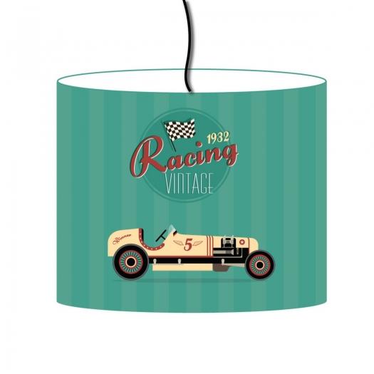 abat jour vintage racing 1932. Black Bedroom Furniture Sets. Home Design Ideas