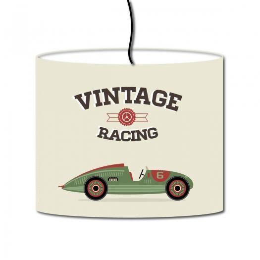 abat jour vintage racing. Black Bedroom Furniture Sets. Home Design Ideas