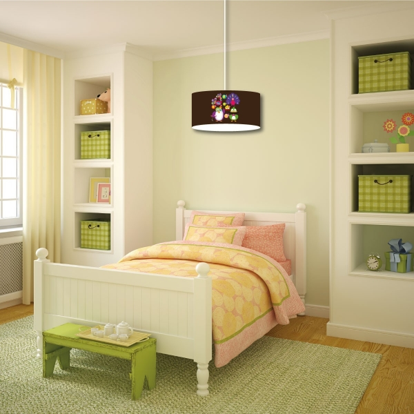 abat jour vintage multicolore. Black Bedroom Furniture Sets. Home Design Ideas